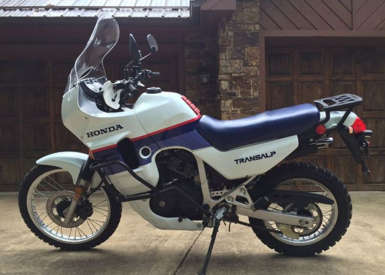 In the late 80s, Honda offered both an AT and a TA – the Africa Twin and the Transalp. Both were ahead of the times, though the latter was more street-biased. Consider it a jack of all trades sort of bike with a cult following. The US only got the Transalp between '89 and '91.