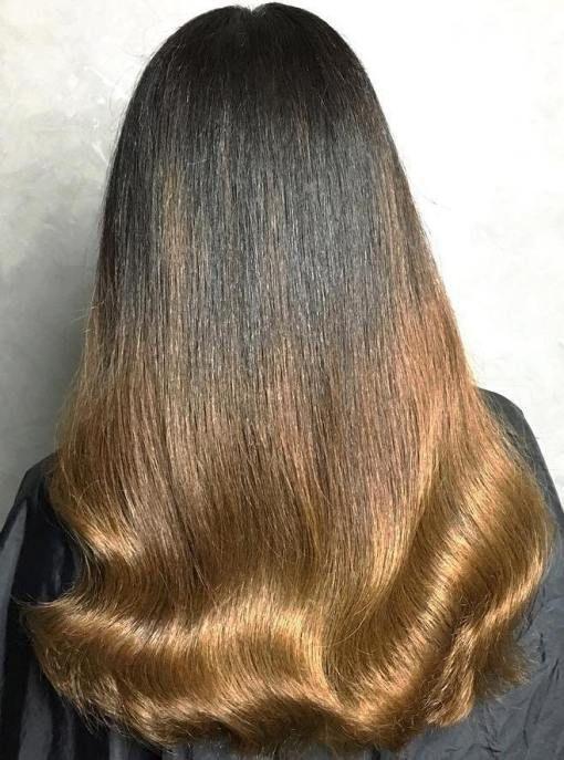 40 Vivid Ideas For Black Ombre Hair