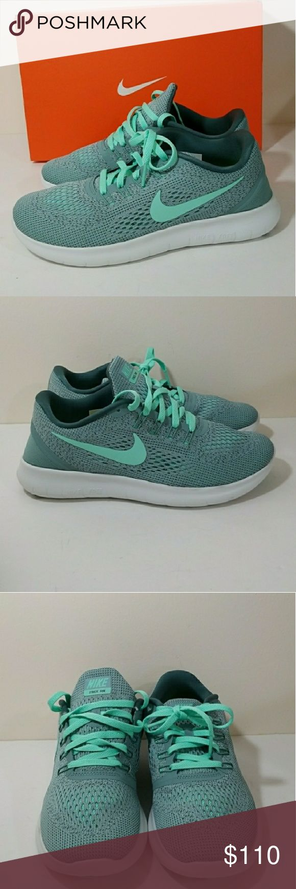 5ec6f451bdcd Nike Free Run Mint Green Tiffany Blue size 9 NWB Nike Shoes Sneakers