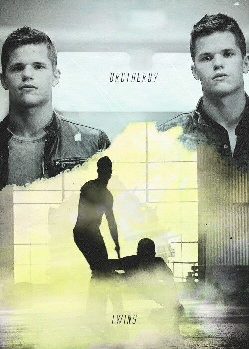teen wolf, twins, and aiden resmi