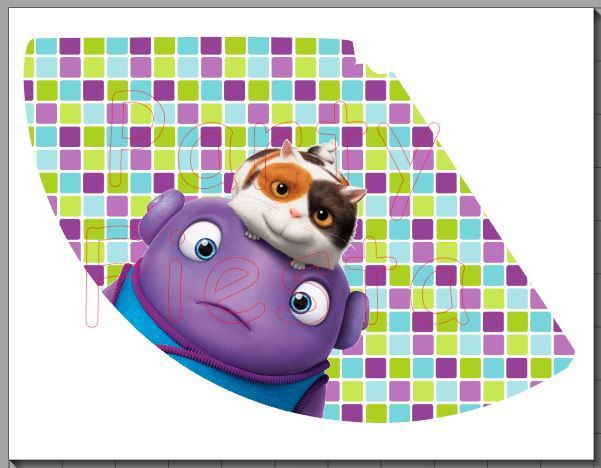 Hat Home Movie Dreamworks Birthday Party Decorations DIY