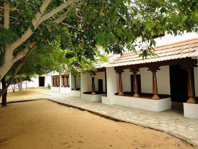 Dakshinachitra- Traditional Tamil Agraharam(Brahmin house)