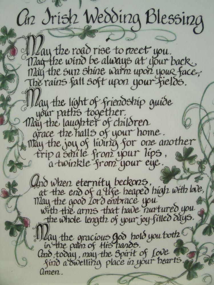 Wedding Quotes Toast Irish Blessing