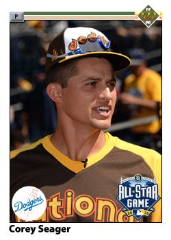 2016 All Star Game Fantasy Dodgers Baseball Cards