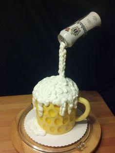 Bierkrug Torte |