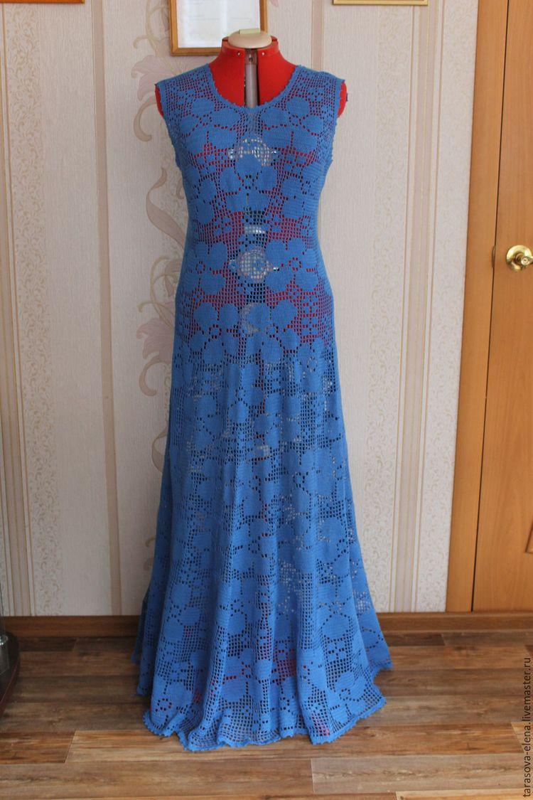 89f01a23de1 Купить или заказать платье в пол в интернет-магазине на Ярмарке Мастеров.