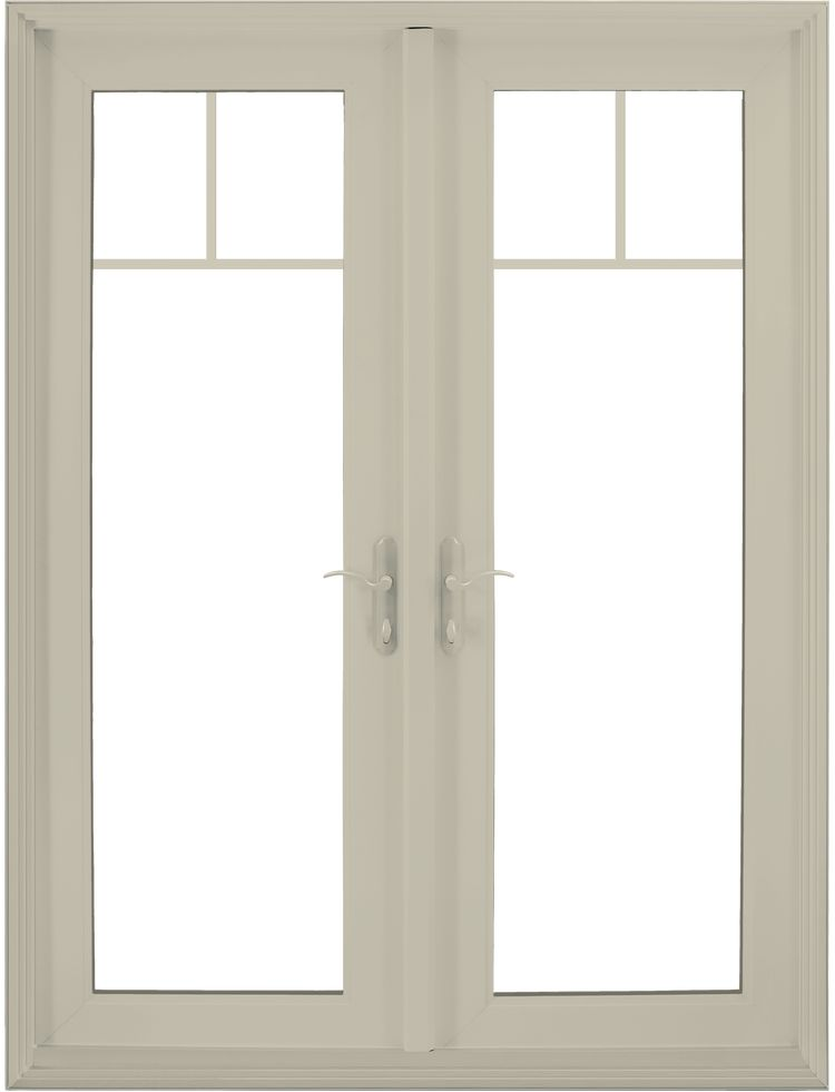 Premium Atlantic Vinyl Swinging Patio Door Jeld Wen Windo