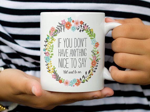 Gag Gift Funny Coffee Mug For Mom Sassy Cute
