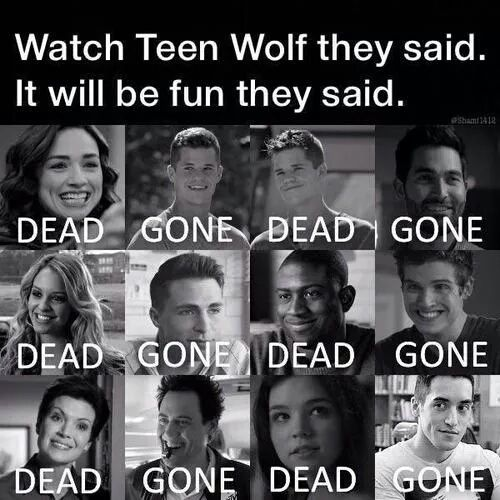 teen wolf, dead, and gone afbeelding