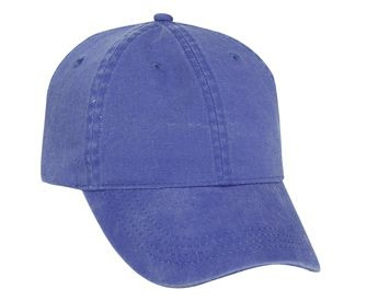 Washed pigment dyed cotton twill solid and two tone color six panel low  profile pro style caps. OTTO Cap ... 9a6d7cd348e0