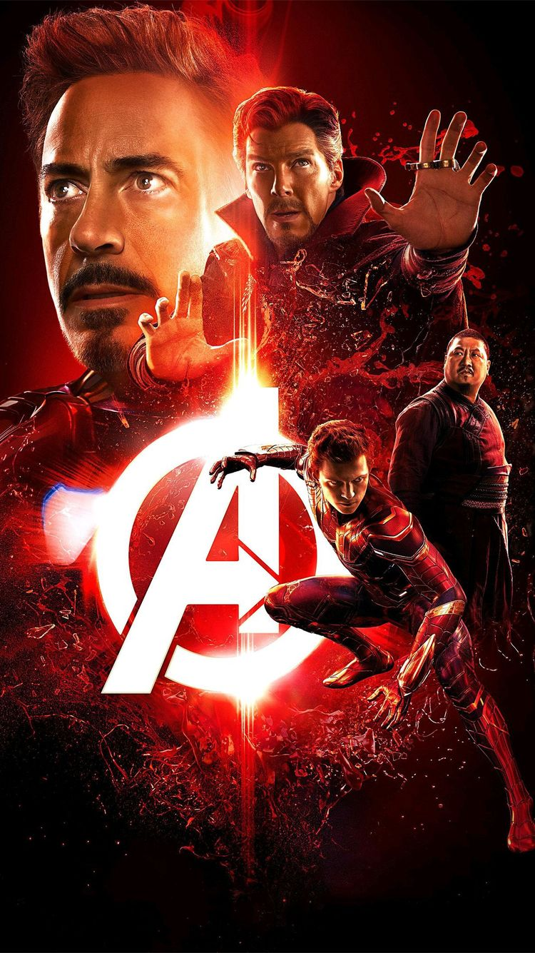 Avengers Infinity War Iron Man Spider Man Doctor Strange IPhone Wallpaper