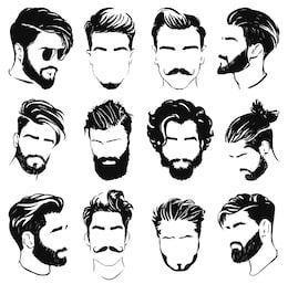 Penteados de desenho para seus personagens - desenho sob demanda