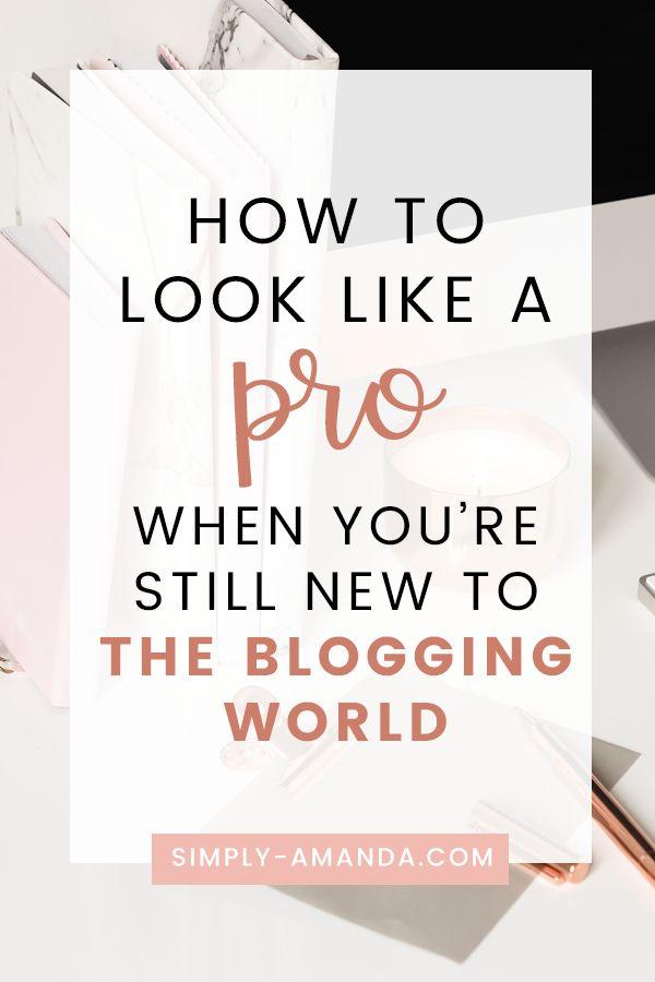 Blogueiros iniciantes: como se parecer com um profissional quando você ainda é novo no mundo dos blogs
