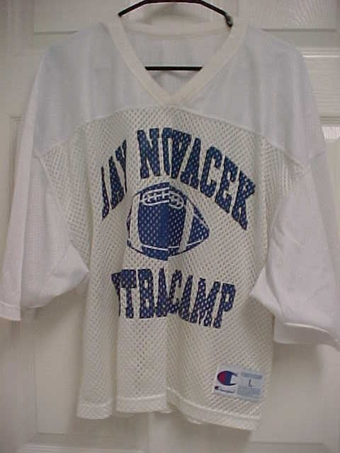 92c3313ec JAY NOVACEK Football Camp Dallas Cowboys 1 2 Cut Mesh Football Jersey L  Champion  Champion