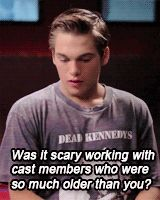 Dylan Sprayberry... just so you know Dylan, I'm single.... 😉