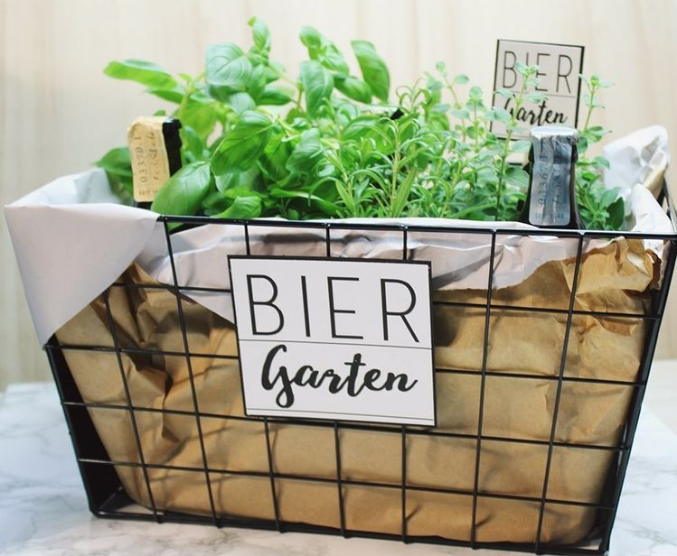 Diy Biergarten Ein Geschenk Zum Geburtstag Inkl Dru