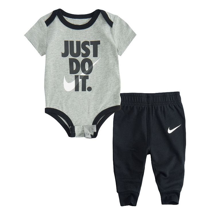 50bccdb15 Nike Baby Boy Ecom Sets Fall 2-pc. Logo Pant Set Baby Boys - JCPenney