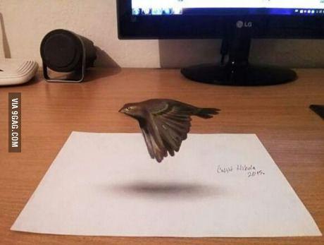 Desenho 3D incrível por Nikola Culjic