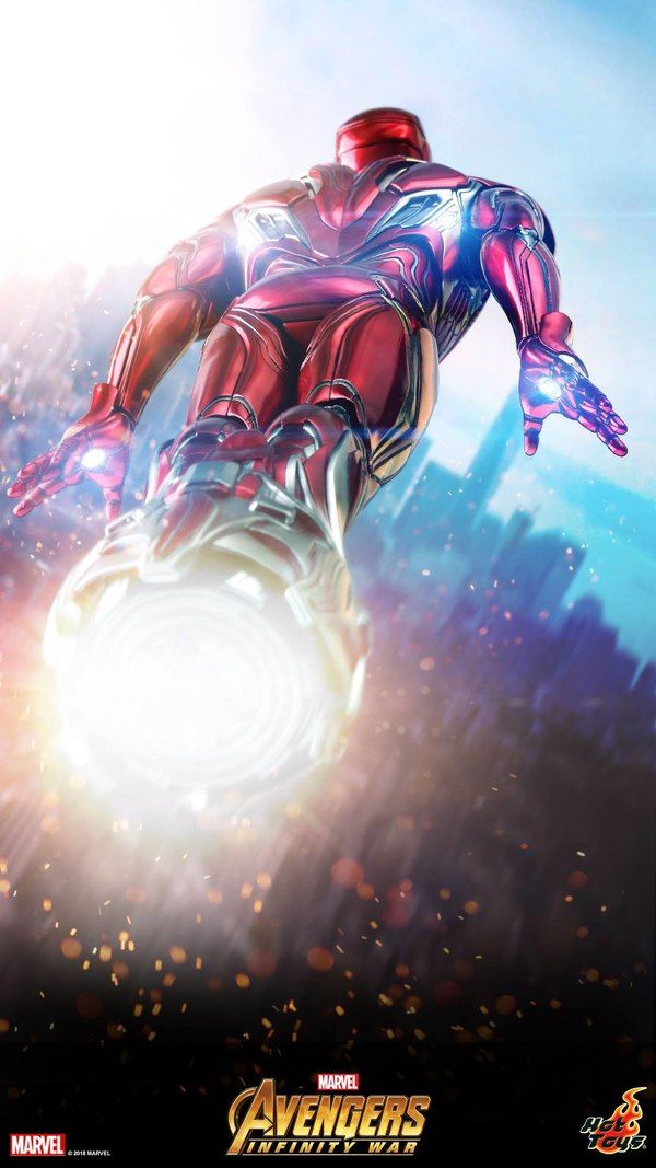 Avengers: Infinity War 1/6 Scale Iron Man 50 Gets A Boost From Hot Toys #Marvel