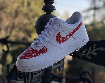07465702f6 Custom Air Force 1. Custom Air Force 1. Nike Air Force 1 Low Louis Vuitton  Custom with Angelus Leather Paint All designs are Professionally Prepared  ...