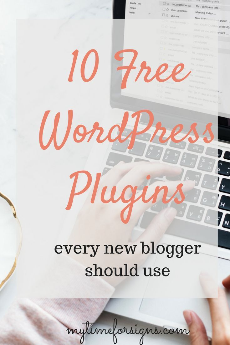 Catagories and reccomedations for free Wordpress plugins new bloggers should be using to run and protect their websites.