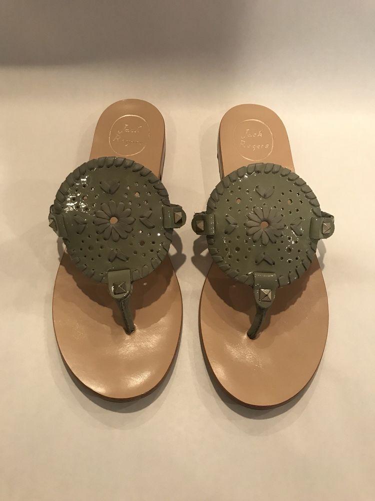 32881b86d74b Jack Rogers Georgica Sandals 8.5  fashion  clothing  shoes  accessories   womensshoes