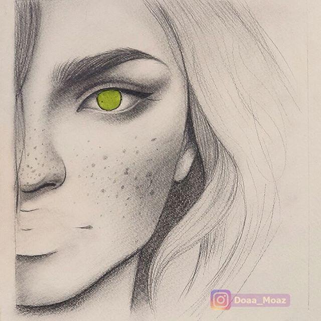 Il est venue le temps pour un dessin fille - voyez les exemples inspiratrices et explorez votre créativité! - Archzine.fr