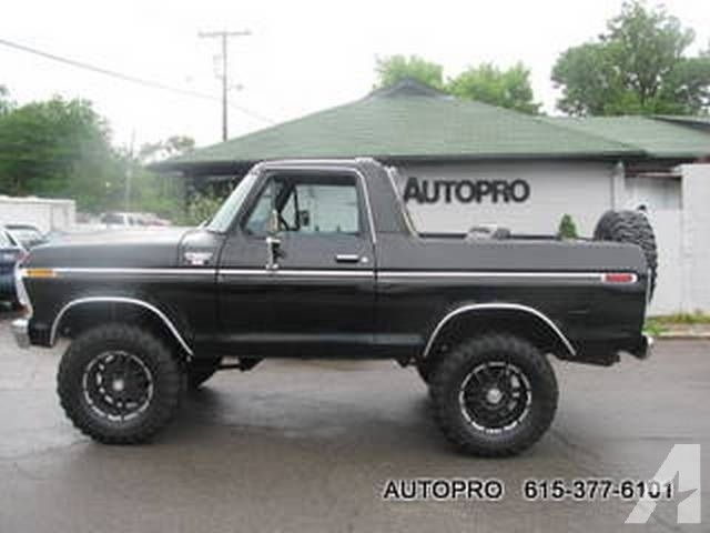 1979 Ford Bronco For Sale In Brentwood Tennessee Classified
