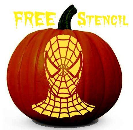Spider Pumpkin Stencil Facemile Pcs Halloween Stencil Witch Spider