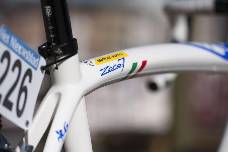 5c7ff86a6c8 Pro Bike Gallery: Martijn Maaskant's UnitedHealthcare Wilier Triestina  Zero.7 - Maaskant usually rides Wilier's stiffer, more aerodynamic Cento1  SR, ...