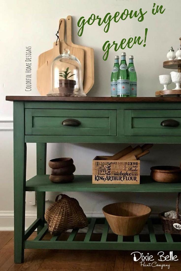 Excited to share this item from my #etsy shop: Kudzu Paint - Green Paint - Dixie Belle Paint - Free Shipping at 50.00 - Farmhouse Paint - Chalk Paint - Furniture Paint