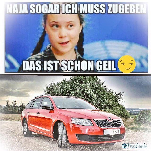 Selbst sie ist der Meinung #gretathunberg #go #skoda #cz #barbel #thüringen #Photoshop  wer...  Selbst sie ist der Meinung #gretathunberg #go #skoda #cz #barbel #thüringen #Photoshop  wer hat der kann. #nature #naturelovers #loveforcars #cars #cars #skoda #octavia #followforfollowback #mycar #newcar #tschechien #skodaoctaviars #driver @skodade @skoda_octavia__vrs @skoda_community #goodvibes #happy