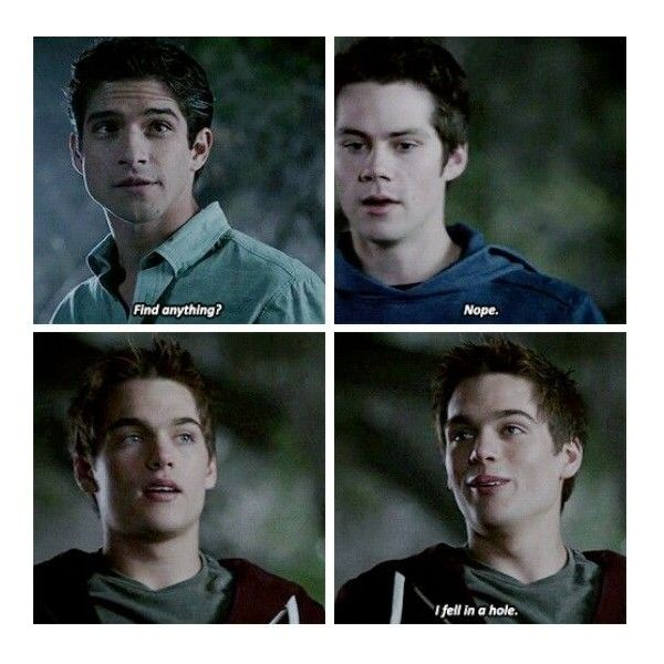 Scott Mccall ❤ liked on Polyvore featuring teen wolf and people
