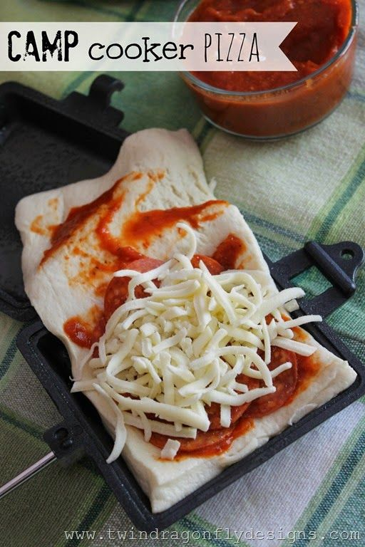 Camp Cooker Pizza Camping Recipe » Homemade Heather