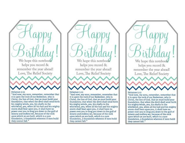 image about Relief Society Declaration Printable named Reduction Lifestyle Birthday Reward with Printable