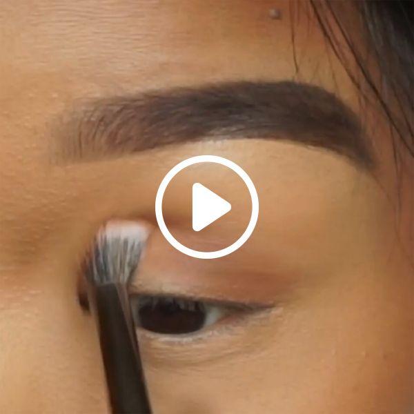 Maquiagem Verde-oliva Monolid