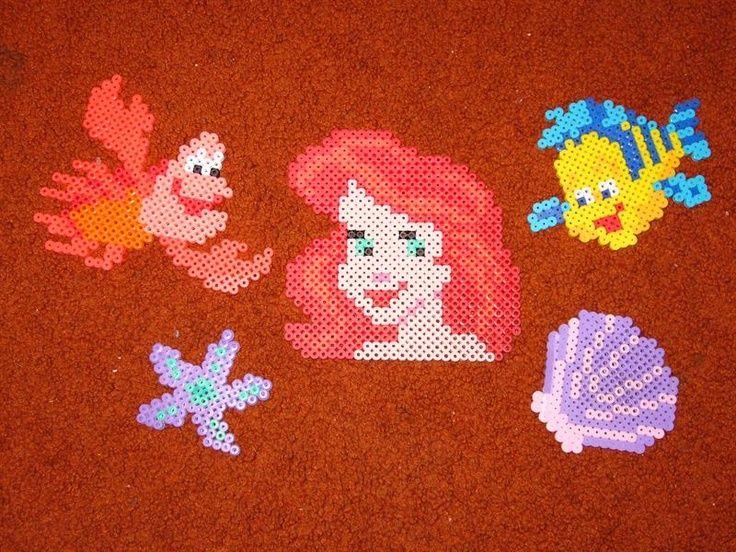 Perler Bead Pattern Disney Characters The Little Mermaid