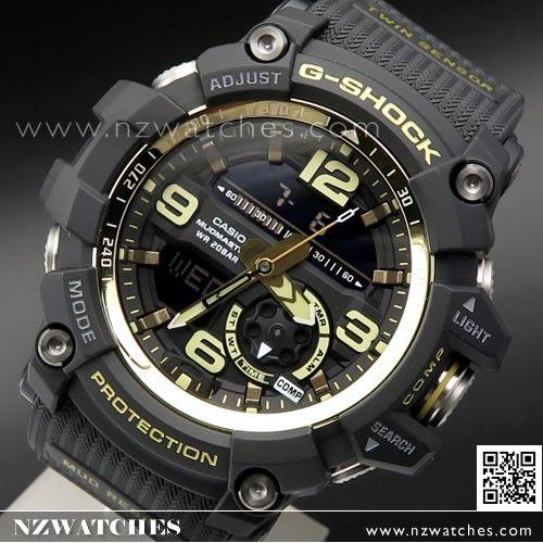 Casio G-Shock Mudmaster Master of G Twin Sensor Sport Watch GG-1000GB-1A 0ecc66728
