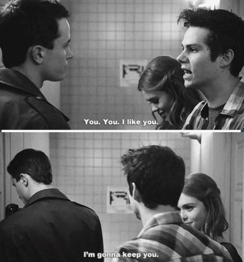 Stiles being funny. Again.