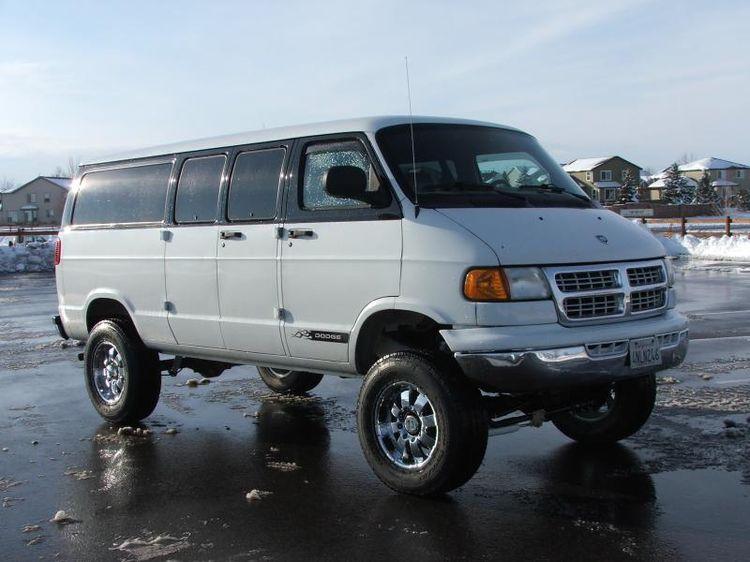 Custom Conversion Vans Boulder Offroad 4x4 Vans