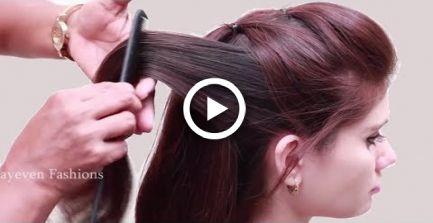 Penteados de festa fácil para cabelos longos ||  penteados bonitos ||  menina de estilo de cabelo ||  Penteado