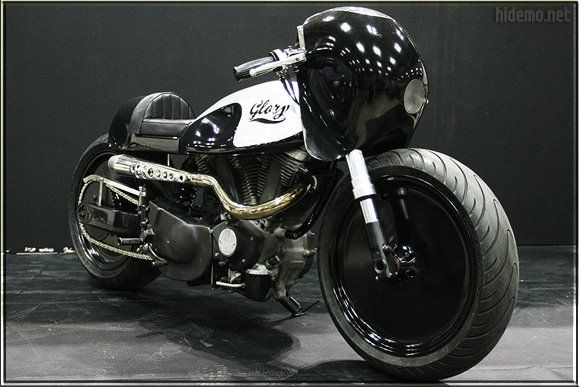 """Hide Motorcycles - The Buell XB9S """"Glory"""" ~ Return of the Cafe Racers"""