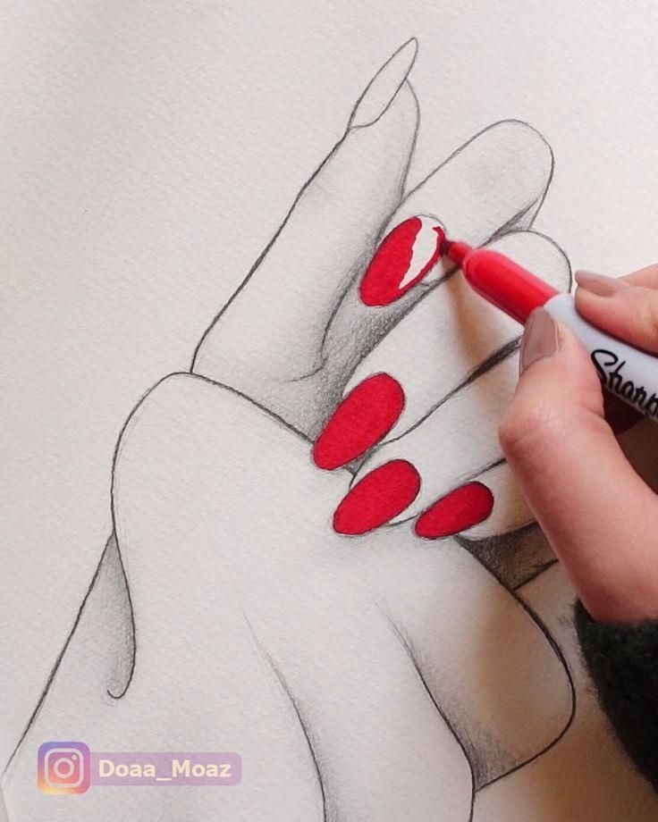 Satisfying hand drawing – #drawing #Hand #Satisfying #zeichnen