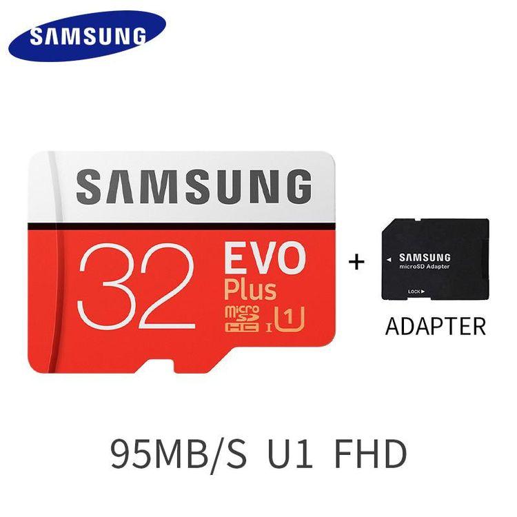 Original SAMSUNG Micro SD card 32GB Class 10 Memory Card EV