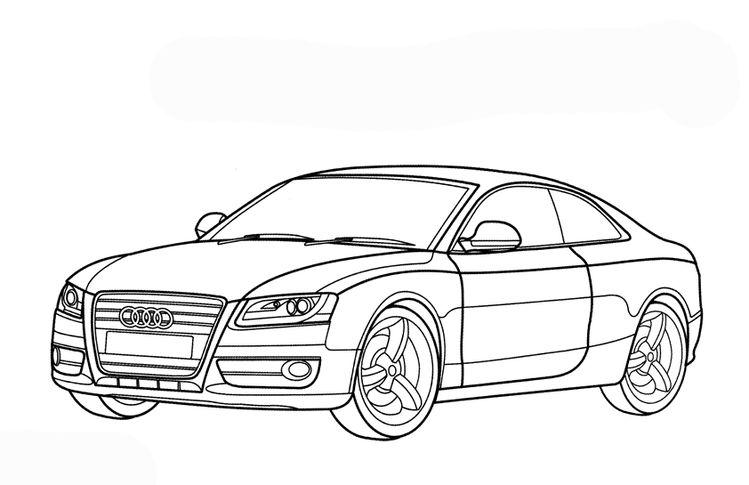 Ausmalbilder Audi 462 Malvorlage Autos Ausmalbilder Kostenl