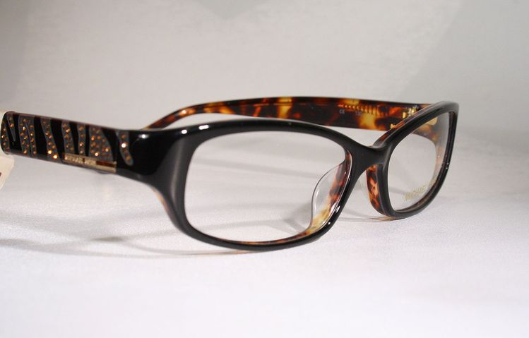 3e6aa466f636 New MICHAEL KORS 603 Women s Strassy Rhinestone Animal Pattern Eyeglasses  Frames
