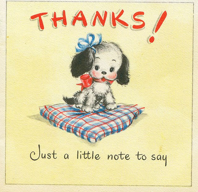 Notes Set of 5 Vintage Style Greetings Cards Thank you Card Birthday Cards Blank Cards