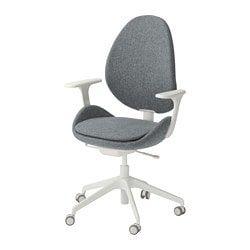 Lillhöjden Chair Idemo White Swivel Blekinge Ikea CWorxeBd
