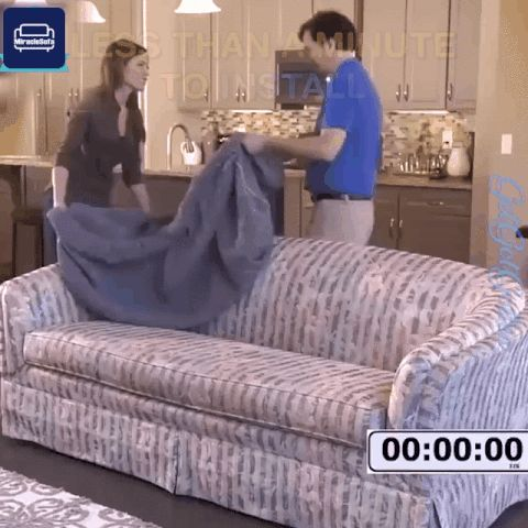 Original MiracleSofa™ - Single Color Universal Sofa & Cushion Cover