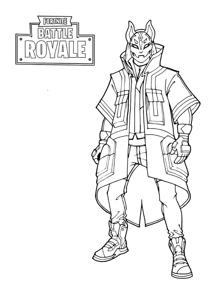 Free Printable Fortnite Coloring Sheets